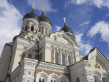 Alexander Nevsky Cathedral, Russian Orthodox Church, Toompea Hill, Tallinn, Estonia Photographic Print by Neale Clarke