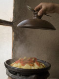 Tagine, Typical Moroccan Food and Pot, Cafe Atlas, Imlil, High Atlas Mountains, Morocco Photographic Print by Ethel Davies