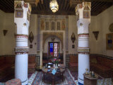 Maison Mnabha Riad (Small Local Hotel), Marrakech, Morocco, North Africa, Africa Photographic Print by Ethel Davies
