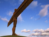 Angel of the North, Sculpture by Anthony Gormley, Newcastle-Upon-Tyne, Tyne and Wear, England Photographic Print by Neale Clarke