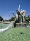 Queen Victoria Fountain, Victoria Square, Adelaide, South Australia, Australia Photographic Print by Neale Clarke