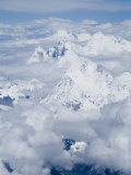 Mount Everest, Himalayas, Border Nepal and Tibet, China Photographic Print by Ethel Davies