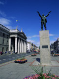 General Post Office and Jim Larkin Statue, O'Connell Street, Dublin, Eire (Rpublic of Ireland) Photographic Print by Neale Clarke