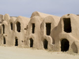 Berber Grain Storage Units, Now a Hotel, Ksar Halouf, Tunisia, North Africa, Africa Photographic Print by Ethel Davies