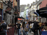 Quay Street, Galway, County Galway, Connacht, Republic of Ireland Photographic Print by Gary Cook
