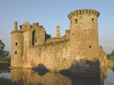 Medieval Stronghold, Caerlaverock Castle Ruin, Dumfries and Galloway, Scotland Photographic Print by James Emmerson
