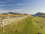 Looking East to Kings Hill and Sewingshields Crag, Hadrians Wall, England Photographic Print by James Emmerson