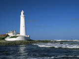St. Mary's Island, Whitley Bay, Tyne and Wear, England, United Kingdom Photographic Print by James Emmerson
