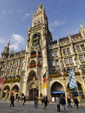 Neues Rathaus (New Town Hall), Marienplatz, Munich, Bavaria (Bayern), Germany Photographic Print by Gary Cook