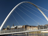 Gateshead Centenary Footbridge, Newcastle Upon Tyne, Tyneside, England, United Kingdom Photographic Print by James Emmerson