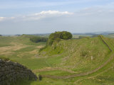Cuddy Crags to East Near Housesteads Fort, Hadrian's Wall, Unesco World Heritage Site, England Photographic Print by James Emmerson