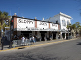 Sloppy Joe's Bar in Duval Street, Key West, Florida, USA Photographic Print by Angelo Cavalli