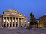 Max-Joseph-Platz at Night, Munich, Germany Photographic Print by Gary Cook