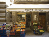 Grocery Store, Cortona, Tuscany, Italy, Euope Photographic Print by Angelo Cavalli
