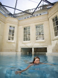 Hot Bath, Thermae Bath Spa, Bath, Avon, England, United Kingdom Photographic Print by Matthew Davison