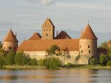 Trakai Castle, Trakai, Near Vilnius, Lithuania, Baltic States Photographic Print by Gary Cook