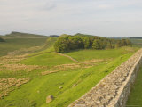 Roman Wall to East at Housesteads Fort to Sewing Shields Crags, Hadrian's Wall, England Photographic Print by James Emmerson