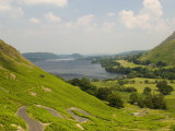 Lake Ullswater from Martindale Road, Lake District National Park, Cumbria, England Photographic Print by James Emmerson