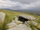 Megalithic Tomb on the Slopes of Slievemore Mountain, Achill Island, County Mayo, Connacht, Ireland Photographic Print by Gary Cook