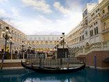 The Venetian Casino and Resort, Las Vegas, Nevada, USA Photographic Print by Angelo Cavalli