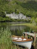 Kylemore Abbey, Connemara, County Galway, Connacht, Republic of Ireland Photographic Print by Gary Cook