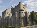 The Castle, Gravensteen, Ghent, Belgium Photographic Print by James Emmerson