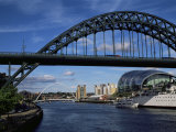 Tyne Bridge, Newcastle Upon Tyne, Tyne and Wear, England, United Kingdom Photographic Print by James Emmerson