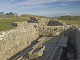 Latrine, Housesteads Roman Fort, Hadrians Wall, UNESCO World Heritage Site, Northumbria, England Photographic Print by James Emmerson