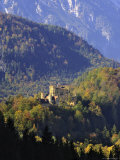Schloss Hohenschwangau, Castle Near Fussen, Bavaria (Bayern), Germany Photographic Print by Gary Cook