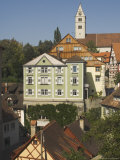 View from Town Hall Garden, Meersburg, Baden-Wurttemberg, Lake Constance, Germany Photographic Print by James Emmerson