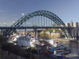 Tyne Bridge, Newcastle Upon Tyne, Tyneside, England, United Kingdom Photographic Print by James Emmerson