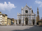 Chiesa Di Santa Croce, Florence, Tuscany, Italy Photographic Print by James Emmerson
