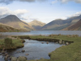 Lake Wastwater, Great Gable, Scafell, Yewbarrow Photographic Print by James Emmerson