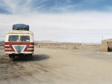 Local Bus to Uyuni, Colchani, Bolivia, South America Photographic Print by Mark Chivers