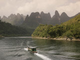 Li River, Guilin, Guangxi Province, China Photographic Print by Angelo Cavalli