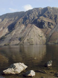 The Screes, Lake Wastwater, Wasdale, Lake District National Park, Cumbria, England Photographic Print by James Emmerson