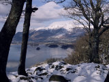 Derwentwater and Skiddaw in Winter, Lake District National Park, Cumbria, England Photographic Print by James Emmerson