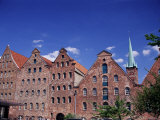Merchants' Warehouses, Lubeck, Germany Photographic Print by James Emmerson