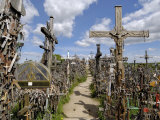 Hill of Crosses, Near Siauliai, Lithuania, Baltic States Photographic Print by Gary Cook