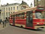 Tram, Den Haag (The Hague), Holland (The Netherlands) Photographic Print by Gary Cook