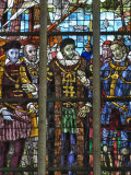 Stained Glass Windows, Oude Kirk (Old Church), Delft, Holland (The Netherlands) Photographic Print by Gary Cook