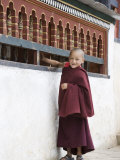 Young Buddhist Monk, Karchu Dratsang Monastery, Jankar, Bumthang, Bhutan Photographic Print by Angelo Cavalli