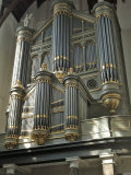 Organ, Oude Kirk (Old Church), Delft, Holland (The Netherlands) Fotoprint van Gary Cook