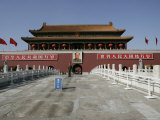 The Heavenly Gate to the Forbidden City, Tiananmen Square, Beijing, China Photographic Print by Angelo Cavalli