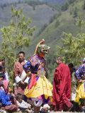 Buddhist Festival (Tsechu), Haa Valley, Bhutan Photographic Print by Angelo Cavalli