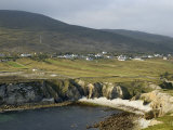 Cove and Village of Ashleam, Achill Island, County Mayo, Connacht, Republic of Ireland Photographic Print by Gary Cook