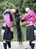Women of Yao Minority (Longhair Tribe), Longsheng Terraced Ricefields, Guilin, China Photographic Print by Angelo Cavalli