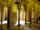 Interior of the Great Mosque (Mezquita) and Cathedral, Unesco World Heritage Site, Cordoba, Spain Photographic Print by James Emmerson