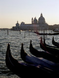 Gondolas and S. Maria Salute, Venice, Veneto, Italy Photographic Print by James Emmerson