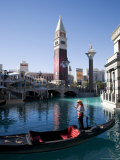 The Venetian Casino and Resort, Las Vegas, Nevada, USA Photographic Print by Angelo Cavalli